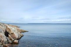 Islas del mar blanco Fotos de archivo libres de regalías