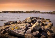Islas preciosas con la naturaleza hermosa - Goteburgo, Suecia fotos de archivo libres de regalías