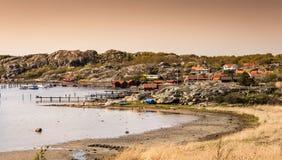 Islas preciosas con la naturaleza hermosa - Goteburgo, Suecia foto de archivo libre de regalías