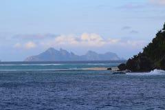 Islas sagradas, islas de Mamanuca, Fiji fotografía de archivo