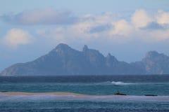 Islas sagradas, islas de Mamanuca, Fiji foto de archivo libre de regalías