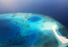 Islas sin tocar del Océano Índico imagenes de archivo