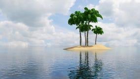 Islas tropicales ilustración del vector