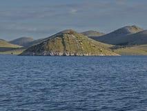 Islas y mar Imagenes de archivo
