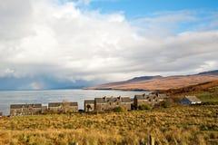 Islay houses Stock Photos