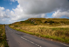 Islay road Royalty Free Stock Images