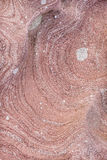 Isle of Arran rock pattern in Scotland. Stock Images