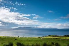 Isle of Arran under cloud Stock Photos
