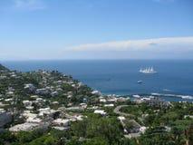 Isle av Capri Royaltyfri Fotografi