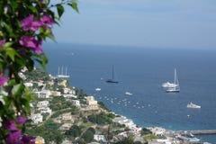 Isle av Capri royaltyfri foto
