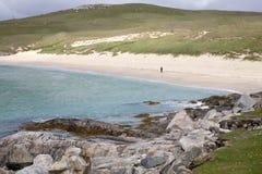 Isle av Harris; Västra Isles, Skottland royaltyfri fotografi