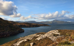 Isle av Raasay Arkivfoton