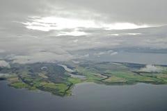 Isle of Bute  and Kintyre Peninsula Royalty Free Stock Image