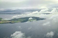 Isle of Bute  and Kintyre Peninsula Royalty Free Stock Photos