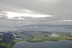 Isle of Bute  and Kintyre Peninsula Stock Photos