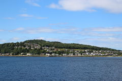 Isle of Bute. Scotland, seen from a ferry Royalty Free Stock Photography