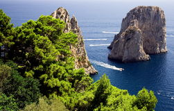Isle of Capri Stock Photography