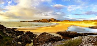 Isle of Colonsay beach royalty free stock photos