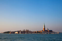 The Isle of Death in Venice Royalty Free Stock Images