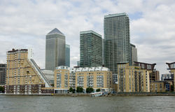 Isle of Dogs apartments Royalty Free Stock Photos