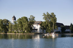 Isle of Frauenchiemsee in Bavaria, Germany Stock Photography