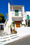 In the isle  greece antorini  color Royalty Free Stock Photography