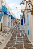In the isle   greece  white color Royalty Free Stock Photo