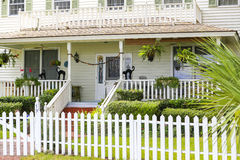 ISLE OF HOPE, GA USA - NOVEMBER 1, 2013: Historic residential district. Stock Image