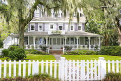 ISLE OF HOPE, GA USA - NOVEMBER 1, 2013: Historic residential district. Royalty Free Stock Photography