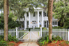 ISLE OF HOPE, GA USA - NOVEMBER 1, 2013: Historic residential district. Stock Photos
