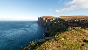 Isle of Hoy cliffs, Orkney Royalty Free Stock Photography