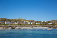 Isle of Iona Scotland uk Inner Hebrides Scottish island off coast of Mull west Scotland Royalty Free Stock Images