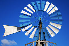 In  isle of lanzarote africa spain  windmills Stock Photos