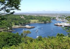 isle lewis stornoway scotland arkivfoton