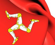 Isle of Man Flag Royalty Free Stock Photos