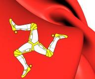 Isle of Man Flag Royalty Free Stock Photos