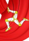 Isle of Man Flag Royalty Free Stock Image