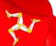Isle of Man Flag Stock Image