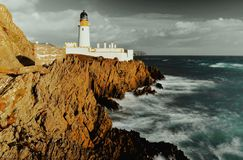 Isle of Man-Leuchtturm Stockfoto