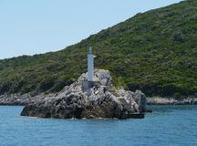 An isle in the Mediterranean Stock Images