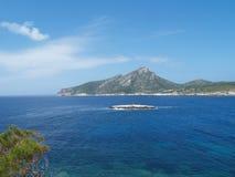 ISLE IN MEDITERRANEAN SEA Royalty Free Stock Photography