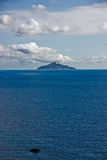 Isle of Montecristo, view from Chiessi, Isle of El Stock Image