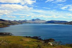 Isle of Mull coastline Stock Photography