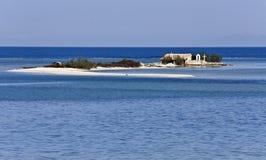 Isle near Lefkada at Greece Royalty Free Stock Image