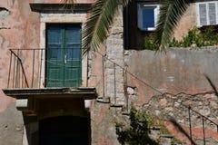 Isle od Sipan, Dubrovnik, Croatia, old house detail Royalty Free Stock Photo