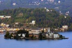 Isle of Orta San Giulio Royalty Free Stock Image
