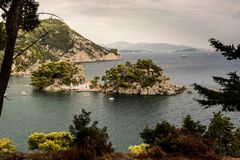 The isle of Parga