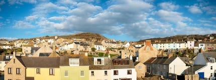 The Isle of Portland in Dorset Stock Image