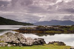 Isle of Skye. On the road to Armadale Royalty Free Stock Images