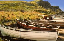 Isle of skye. Scotland isle of skye gb uk royalty free stock photo